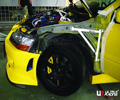 Evo Fenders - ULTRA RACING 3-Point FENDER Bar / Brace for Mit LANCER EVOLUTION EVO 7 FD3-897