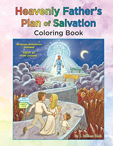 Heavenly Father's Plan of Salvation Coloring Book: Book 1