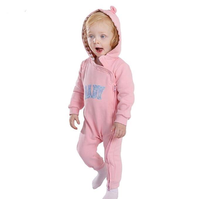 YAVOCOS - Pelele para dormir - para bebé niño Rosa rosa M: Amazon.es: Ropa y accesorios