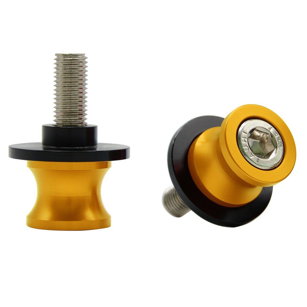 Blu M10 *1.25 Nottolini Assen Swingarm Spool Screw Per Kawasaki Ninja 250R//650R ZX6R//9R//10R//12R//14 Z1000 ZRX1100//1200 ZZR600 Per Yamaha FZR 1000//600R//400 Duke 125//200//390 RC 125//200//390