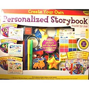 Amazon Com Create Your Own Personalized Storybook Arts
