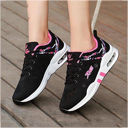 Que Deporte Mujeres Mujeres Tamaño del nuevos Transpirables UN de Las de Huecos los Zapatos UN Zapatos Color 38 Zapatillas vuelan Las Verano de Las YaXuan Ocasionales gaqYwnHxvt
