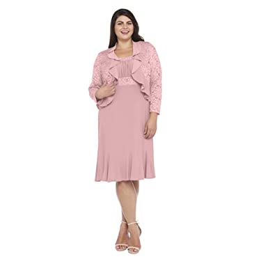 Rm Richards Short Plus Size Mother Of The Bride Dress At Amazon