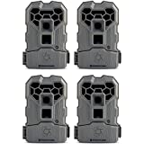 Stealth Cam 10MP Infrared Hunting Scouting Game Trail Camera w/ Video, 4 Pack
