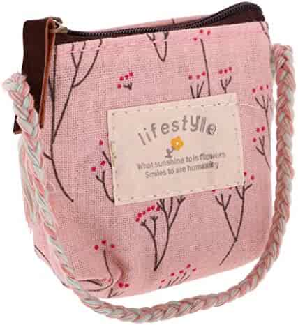 2158814f6e12 MagiDeal 1 6 Scale Adorable Doll Flower Cloth Bag Handbag for Doll Clothing  Dress Up