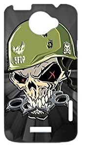 Five Finger Death Punch - Warhead Poster Premium Case Hard Cover Plastic Faceplate for HTC One X+