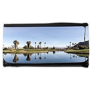 le portefeuille de grands luxe femmes avec beaucoup de compartiments // M00311474 Oasis Desert Resort Palms Agua // Large Size Wallet