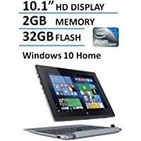 Acer One 2 in 1 10.1-Inch IPS Touchscreen Laptop Tablet (Intel Quad-core Atom up to 1.83GHz Processor, 2GB DDR3 RAM, 32GB, Windows 10 Home) (Certified Refurbished)