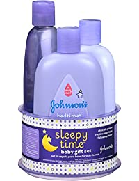 Johnson's Sleepy Time Baby Gift Set, 3 Items BOBEBE Online Baby Store From New York to Miami and Los Angeles