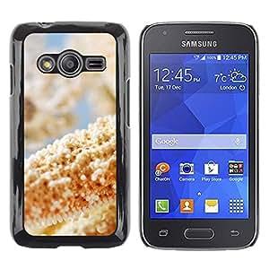 Caucho caso de Shell duro de la cubierta de accesorios de protección BY RAYDREAMMM - Samsung Galaxy Ace 4 - Plant Nature Forrest Flower 52