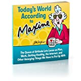 BOK2169 Today's World According to Maxine softcover gift book by Hallmark