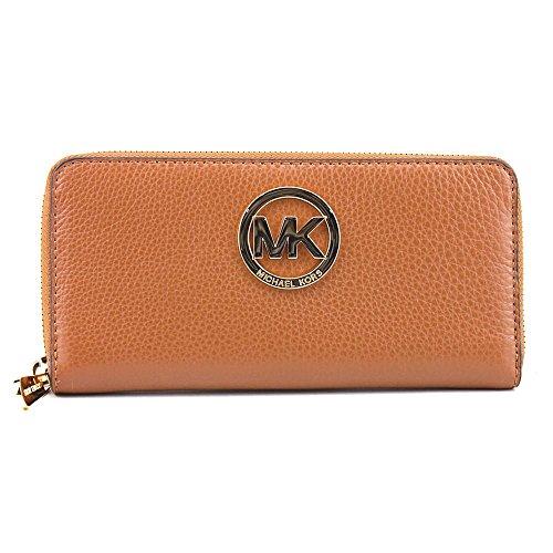 Michael Kors Fulton Zip Around Continental Wallet - Luggage