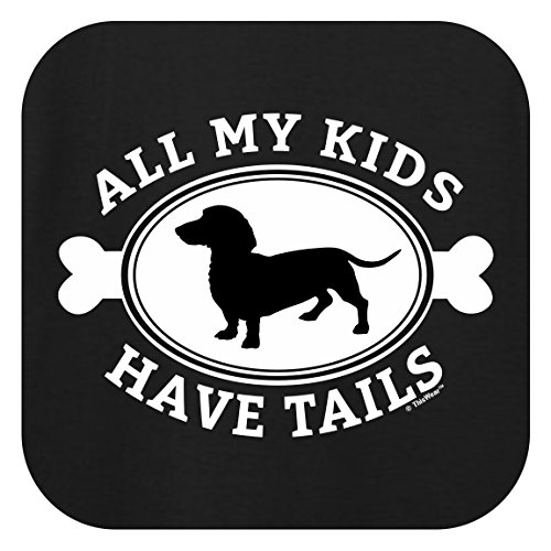Amazon Com Thiswear Dachshund Ts All My Kids Have Tails Weiner