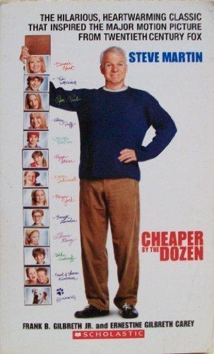 Cheaper by the Dozen by Frank B. Gilbreth Jr., Ernestine Gilbreth Carey (2004) Mass Market Paperback (Cheaper By The Dozen By Frank B Gilbreth)