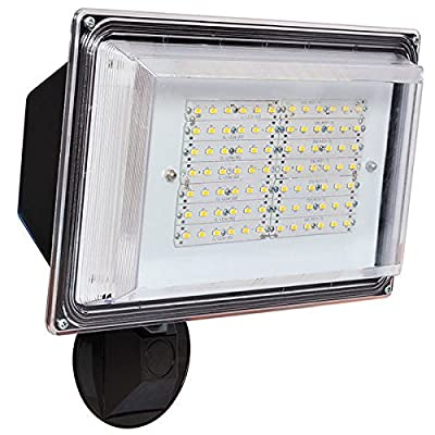 42W LED Security Light with Photocell Sensor 120V Bronze Finish Amax Lighting LED-SL42BZ