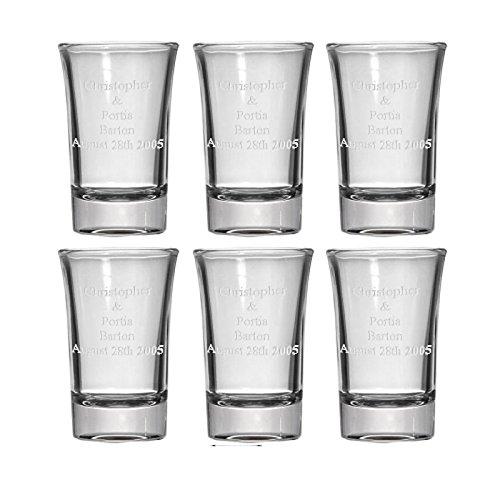Personalizowane szyby szklane (zestaw 6)