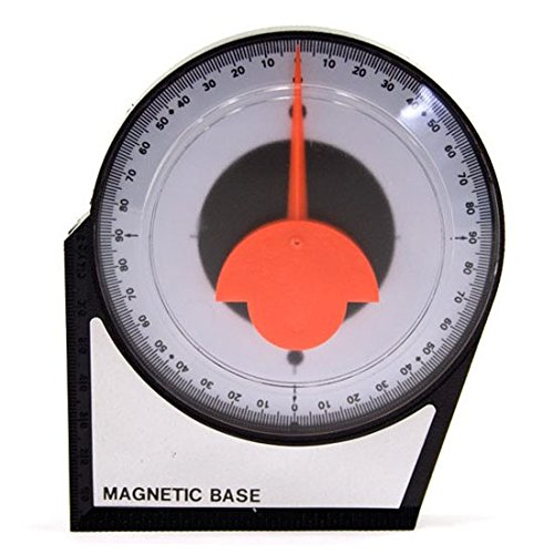 (Inclinometer Bubble Angle Finder Tool Degree Alignment Pitch Satellite Dish TV Antenna, Magnetic Base 4
