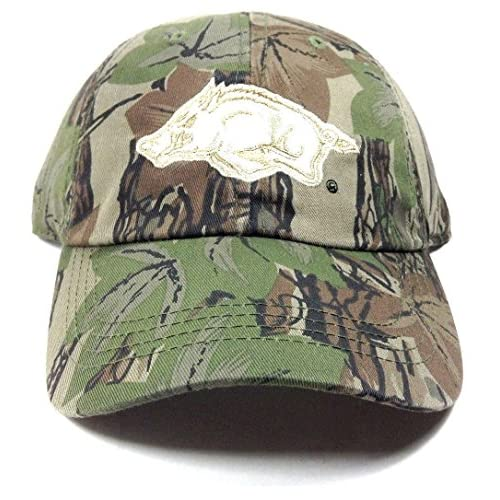 Venta caliente 2018 Corrector Arkansas Razorbacks Solid Camo sombrero  ajustable 0274d955e54