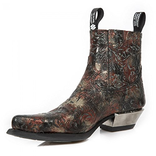 New Rock Cowboy Rock Boots Men's New p6nZw