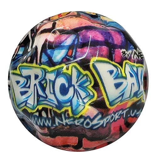 Baseballs Hi Bounce Ball - Nero SPORT Brick Ball High Bounce & Agility Ball Parkour Edition (single)