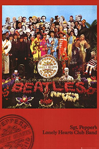 The Beatles - Sgt Pepper Poster 24 x 36in