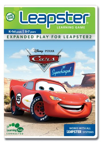 Leapfrog Leapster Cars - LeapFrog Leapster Learning Game Cars Supercharged