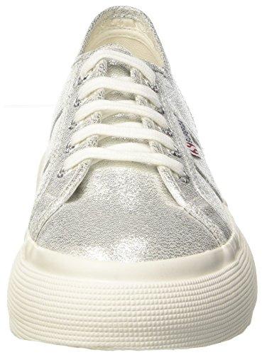 Silver 031 Superga Grey Argenté 2287 Femme Lamew Baskets w71aY