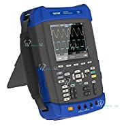 Handheld Oscilloscope Multimeter 6in1 2CH 200MHz 1GSa/s Recorder DMM Spectrum Analyzer Frequency Counter Arbitrary Waveform generator