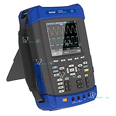 Handheld Oscilloscope Multimeter 6in1 2CH 200MHz 1GSa/s Recorder DMM Spectrum Analyzer Frequency Counter Arbitrary Waveform generator