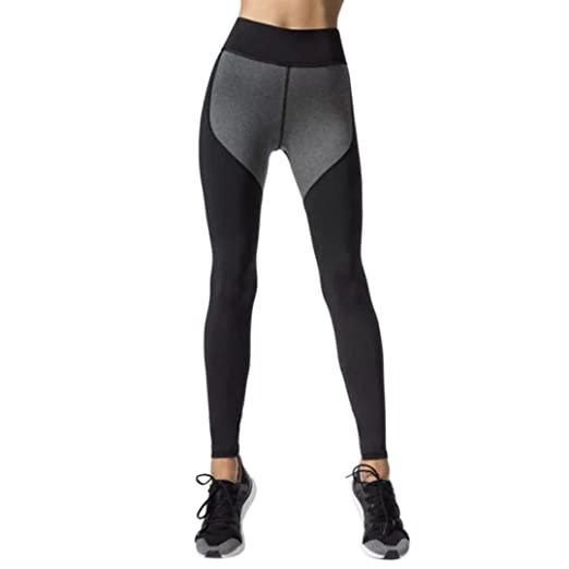 375a875676 Snowfoller Women's Workout & Training Leggings Fashion Patchwork Fitness  Sports Gym Running Yoga Dance Athletic Pants