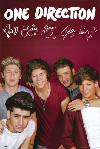 P/óster de One Direction para pared dise/ño de One Direction