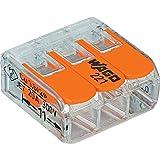 Wago 221-413 LEVER-NUTS 3 Conductor Compact Connectors 10 PK