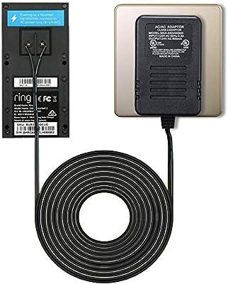 Amazon.com: Adaptador de alimentación para timbre de puerta ...