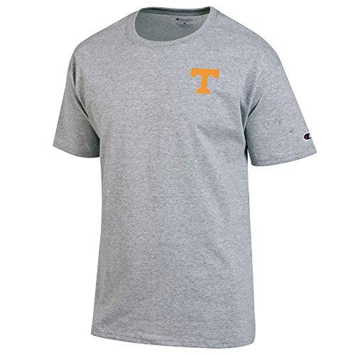 NCAA Tennessee Volunteers Men's Pride Graphic Short Sleeve Tee, Large, Oxford Grey - Tennessee Volunteers Ncaa Tee