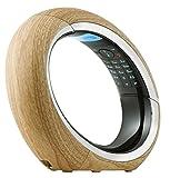 AEG Eclipse 15 Schnurloses DECT-Telefon mit ECO Modus und integriertem Anrufbeantworter, holz
