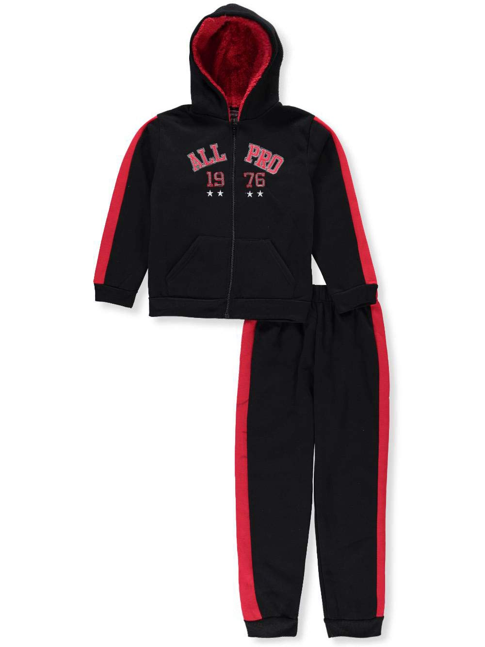 Quad Seven Boys' 2-Piece Sweatsuit Pants Set
