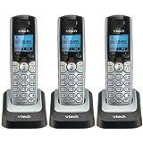 Vtech DS6151 Base with 3 Additional DS6101 Cordless Handsets Bundle