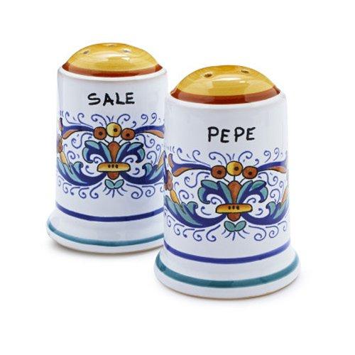 Sur La Table Nova Deruta Salt and Pepper Shaker Set 408 S & P (Salt & Pepper Deruta)