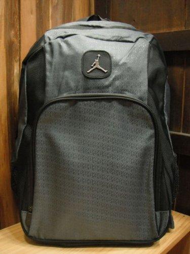 Nike Air Jordan Jumpman Backpack Dark Grey Elephant Laptop Tablet Gym Bag (Best Nike Air Jordans)