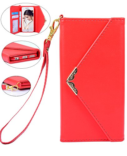 Crosspace Envelope Handbag Magnetic 4 7inch Red product image