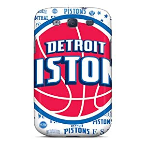 Awesome Design Detroit Pistons Hard Case Cover For Galaxy S3