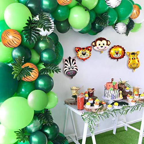 Jungle Safari Birthday Supplies - 2019 Upgrade Jungle Safari Theme Party