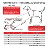 Puppia Authentic Neon Soft Harness A, Pink, Small