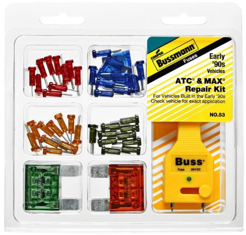 Bussman NO.53 Buss Fuses ATC & MAX Repair Kit by Bussmann (Image #1)