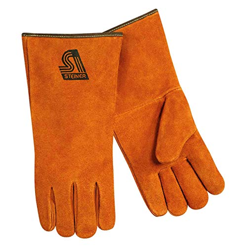 Steiner 2119C-XS Kevlar Side Split Cowhide Leather Welding Gloves, Extra Small ()