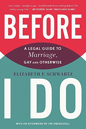 Download PDF Before I Do - A Legal Guide to Marriage, Gay and Otherwise