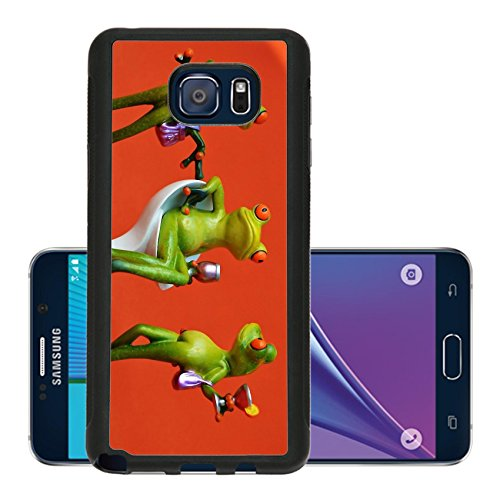 Liili Premium Samsung Galaxy Note 5 Aluminum Backplate Bumper Snap Case Party Celebrate Drink Funny Image 1249499 - Arrogant Frog