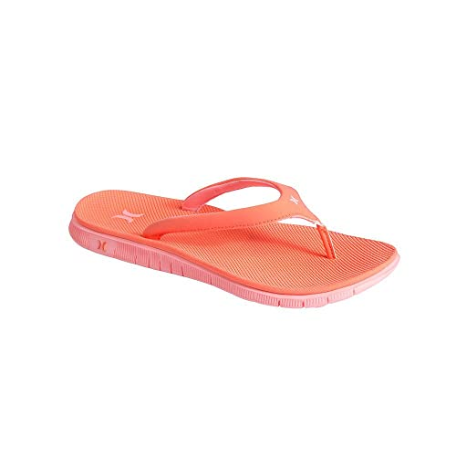 54738dbb6a00 Hurley Womens YC Phantom Sandals Coral  Amazon.co.uk  Shoes   Bags
