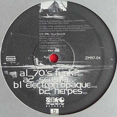 D-Ex - D-Ex EP - Zero Muzic Records - ZM97-04
