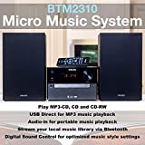 Philips Bluetooth Stereo System for Home with CD